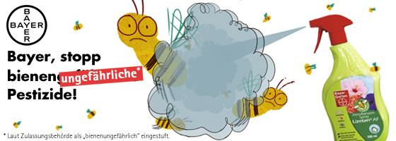 Bayer, BUND und die Bienen – Großkonzern verklagt Naturschutzbund