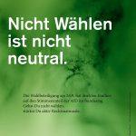 Bundestagswahl 2017 – wählen gehen